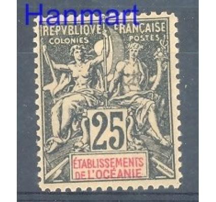 Znaczek Oceania Francuska 1892 Mi 8 Z podlepką *