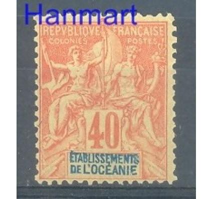 Znaczek Oceania Francuska 1892 Mi 10 Z podlepką *