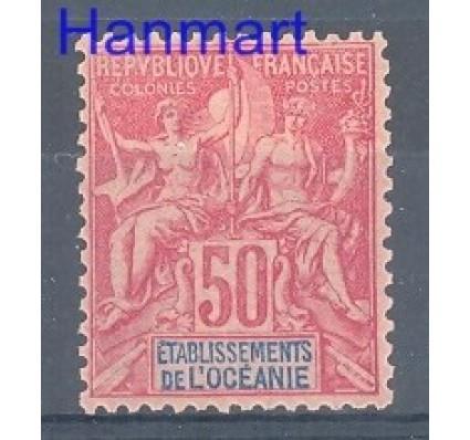 Znaczek Oceania Francuska 1892 Mi 11 Z podlepką *