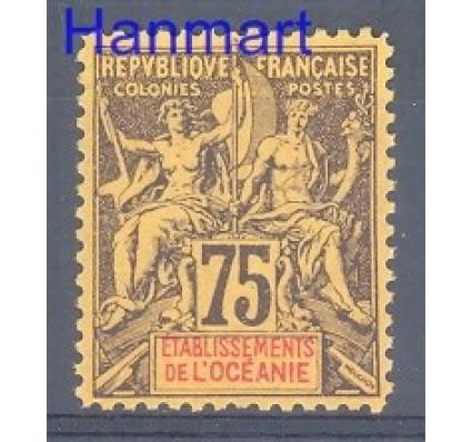Znaczek Oceania Francuska 1892 Mi 12 Z podlepką *