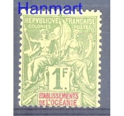 Znaczek Oceania Francuska 1892 Mi 13 Z podlepką *