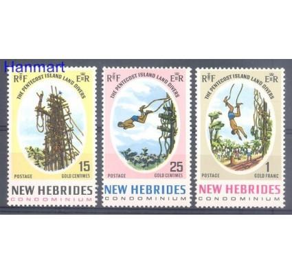 Znaczek Nowe Hebrydy 1969 Mi 283-285 Czyste **