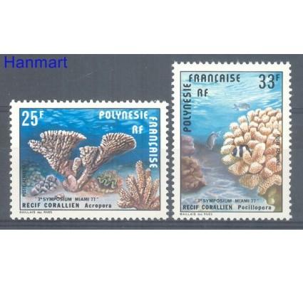 Znaczek Polinezja Francuska 1977 Mi 235-236 Czyste **