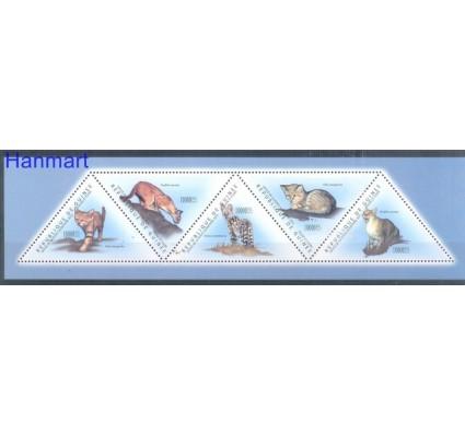 Znaczek Gwinea 2011 Mi 8676-8680 Czyste **