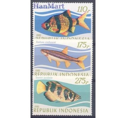 Znaczek Indonezja 1983 Mi 1116-1118 Czyste **
