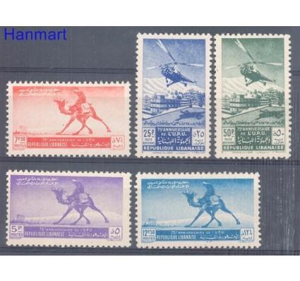 Znaczek Liban 1949 Mi 408-412 Czyste **