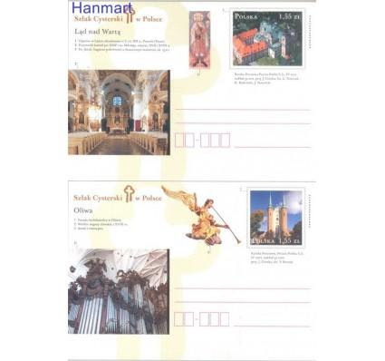 Znaczek Polska 2012 Fi Cp 1603-1604 Całostka pocztowa