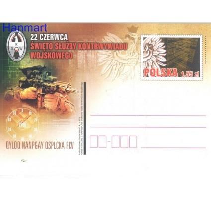 Znaczek Polska 2012 Fi Cp 1615 Całostka pocztowa