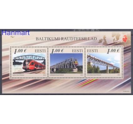 Znaczek Estonia 2012 Mi bl 34 Czyste **