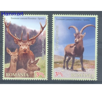 Znaczek Rumunia 2012 Mi 6656-6657 Czyste **
