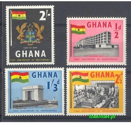 Znaczek Ghana 1958 Mi 20-23 Inne
