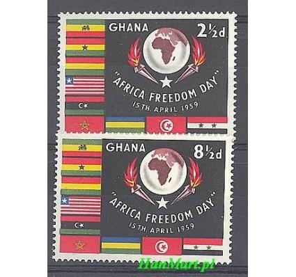 Znaczek Ghana 1959 Mi 46-47 Czyste **
