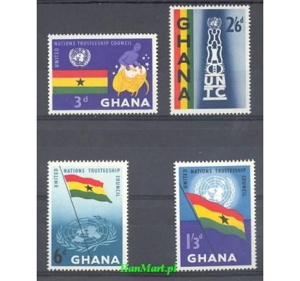 Znaczek Ghana 1959 Mi 69-72 Czyste **