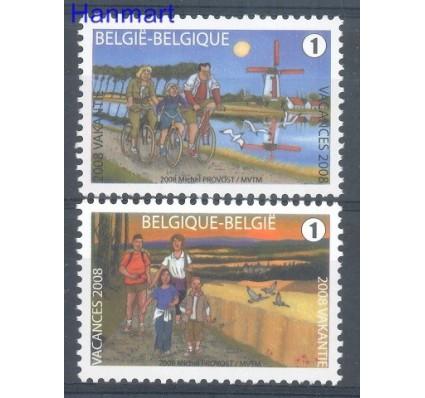 Znaczek Belgia 2008 Mi 3837-3838 Czyste **
