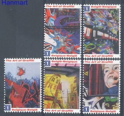 Znaczek Belgia 2011 Mi 4171-4175 Czyste **