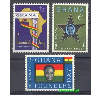 Ghana 1960 Mi 88-90 Czyste **