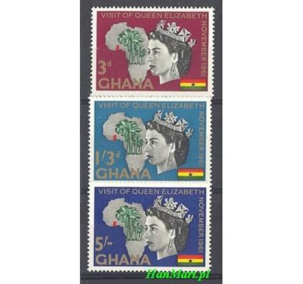 Ghana 1961 Mi 109-111 Czyste **