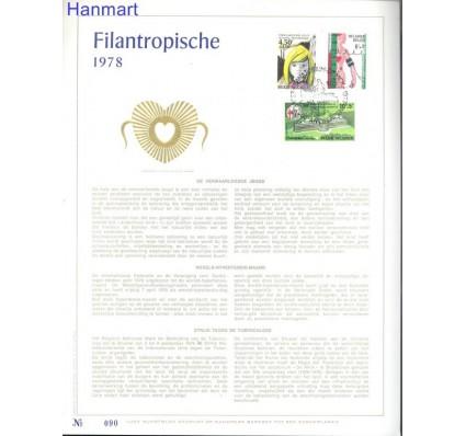 Znaczek Belgia 1978 Mi 1933-1935 Pierwszy dzień wydania