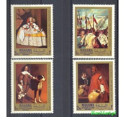 Znaczek Manama 1968 Mi 65-68 Czyste **