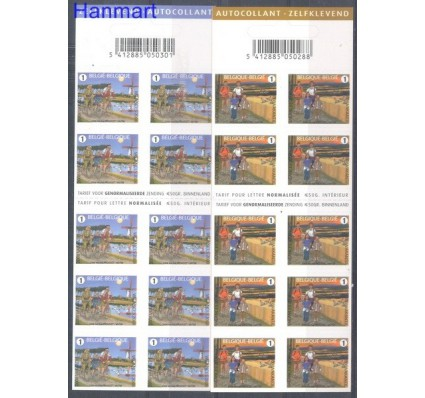 Znaczek Belgia 2008 Mi mh 3839-3840 Czyste **