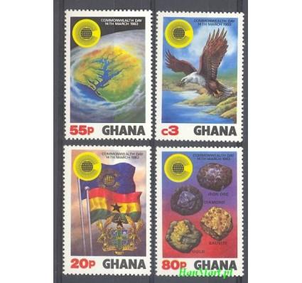 Znaczek Ghana 1983 Mi 964-967 Czyste **