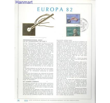 Znaczek Belgia 1982 Mi 2100-2101 Pierwszy dzień wydania