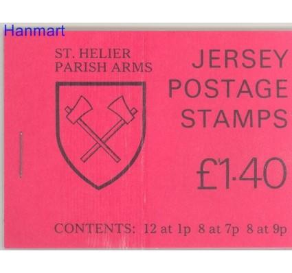 Znaczek Jersey 1981 Mi mh O-21 Czyste **