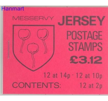 Jersey 1981 Mi mh O-27 Czyste **