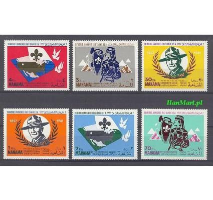 Manama 1967 Mi 31-36 Czyste **