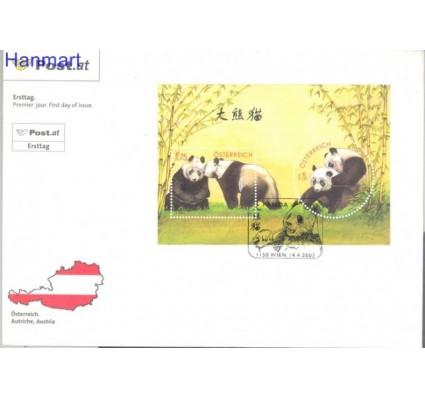 Znaczek Austria 2003 Mi bl 18 FDC
