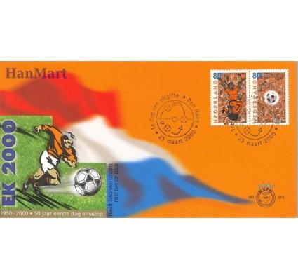 Znaczek Holandia 2000 Mi 1786-1787 FDC