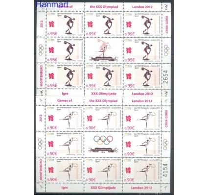 Znaczek Czarnogóra 2012 Mi ark 302-303 Czyste **