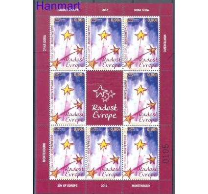 Znaczek Czarnogóra 2012 Mi ark 312 Czyste **