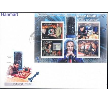 Znaczek Uganda 2012 Mi 2854-2857 FDC