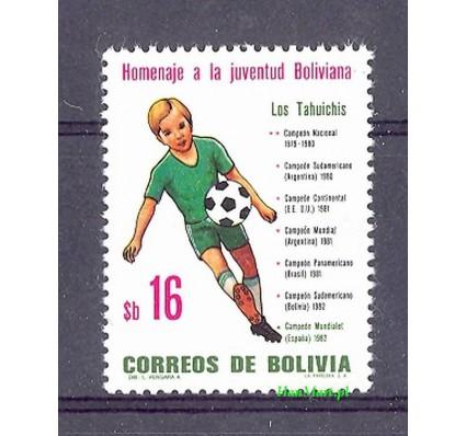 Znaczek Boliwia 1982 Mi 989 Czyste **