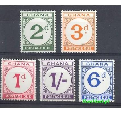Ghana 1958 Mi 6-10 Czyste **