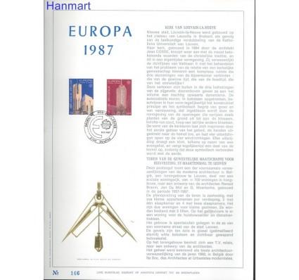 Znaczek Belgia 1987 Mi 2303-2304 Pierwszy dzień wydania