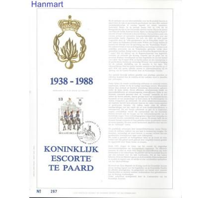 Belgia 1988 Mi 2360 Pierwszy dzień wydania