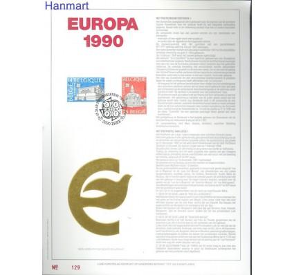 Znaczek Belgia 1990 Mi 2419 Pierwszy dzień wydania
