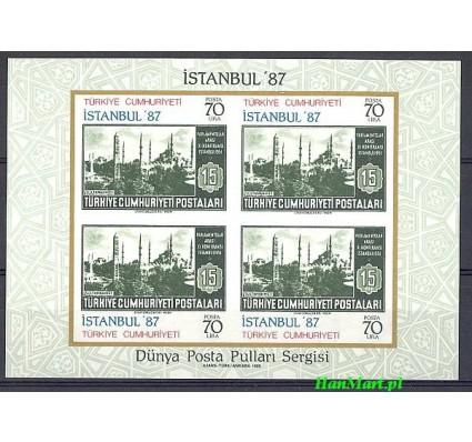 Znaczek Turcja 1985 Mi bl 24 Czyste **
