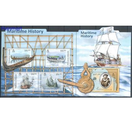 Znaczek Wyspy Salomona 2012 Mi 1516-1520 Czyste **