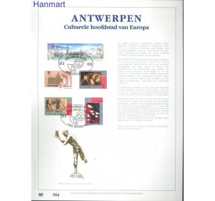 Znaczek Belgia 1993 Mi 2547-2551 Pierwszy dzień wydania