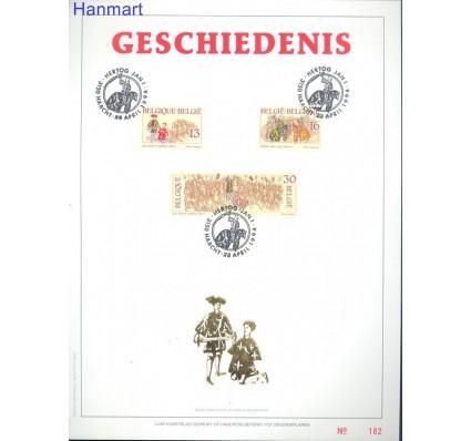 Znaczek Belgia 1994 Mi 2604-2606 Pierwszy dzień wydania
