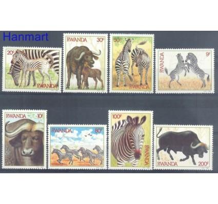 Znaczek Rwanda 1984 Mi 1283-1290 Czyste **