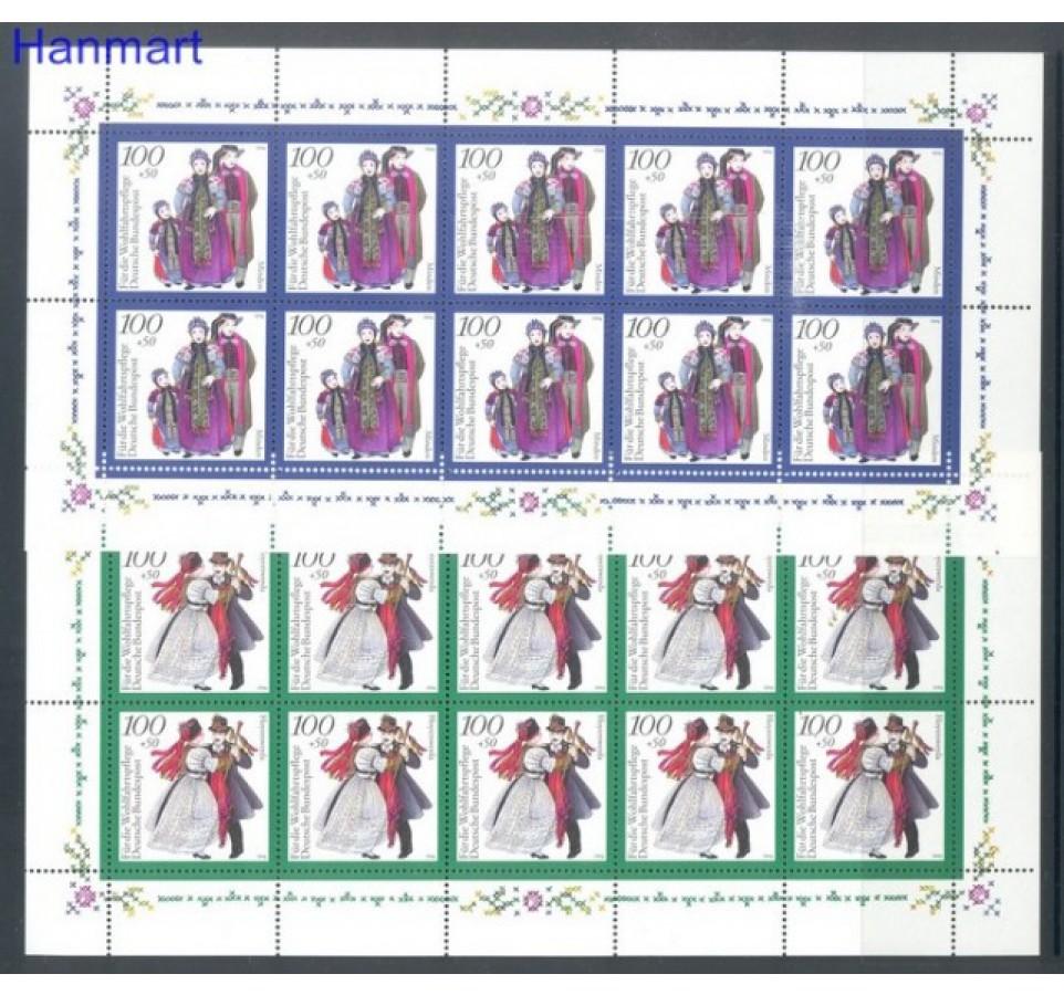 Niemcy 1994 Mi 1757-1761 Czyste **