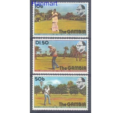 Gambia 1976 Mi 323-325 Czyste **