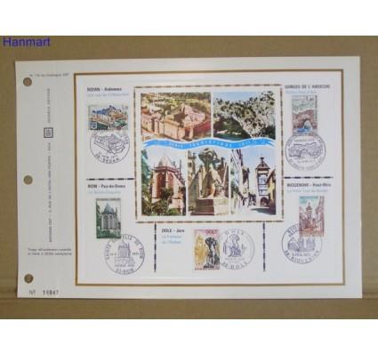 Znaczek Francja 1971 Mi 1756-1760 Pierwszy dzień wydania