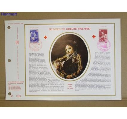 Francja 1971 Mi 1777-1778 Pierwszy dzień wydania