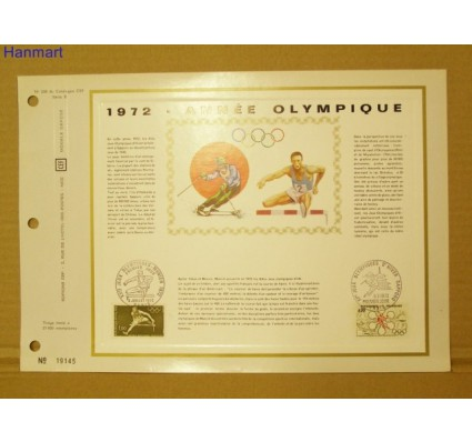 Znaczek Francja 1972 Mi 1802 Pierwszy dzień wydania