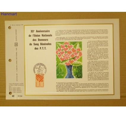 Znaczek Francja 1972 Mi 1791 Pierwszy dzień wydania